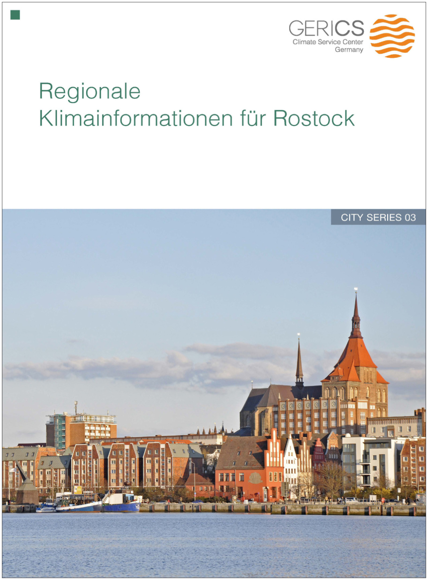 Flyer Regionale Klimainformationen für Rostock