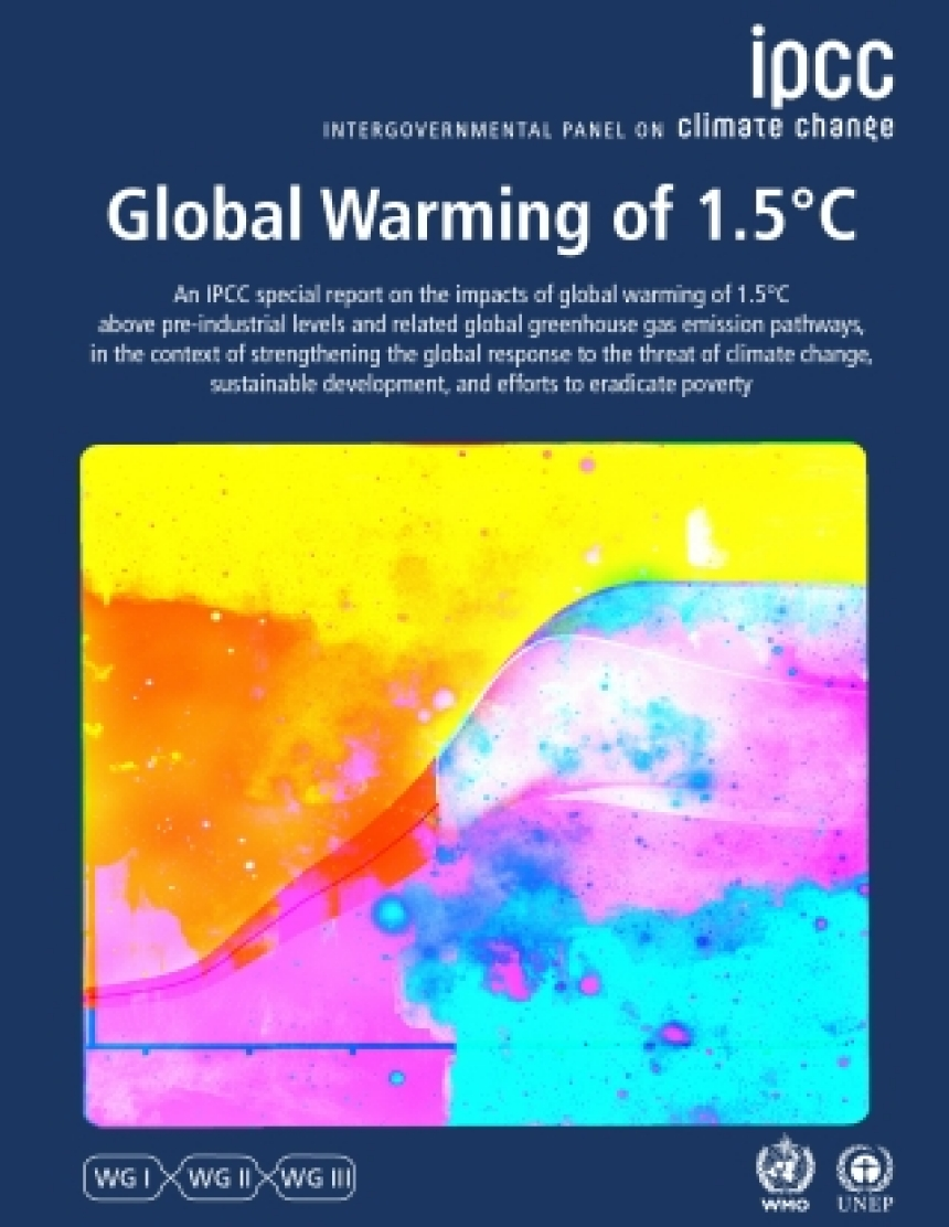ippc Global Warming of 1,5 Grad