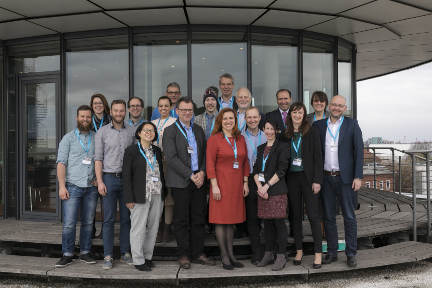 The participants of the expert meeting