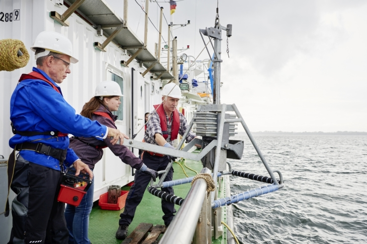 North Sea expedition (Photo: HZG/Christian Schmid)