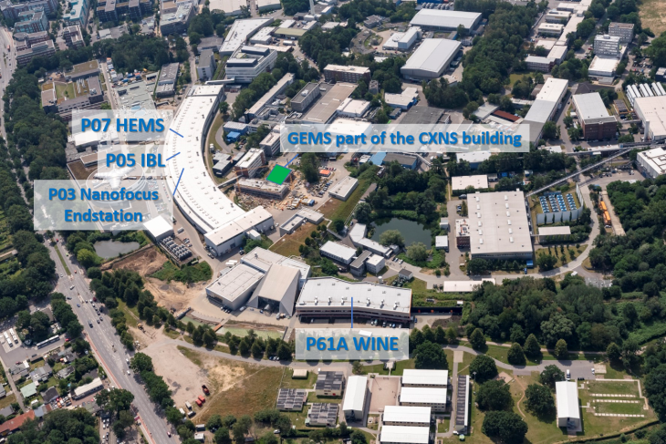 Desy Aerial View With Gems Instruments