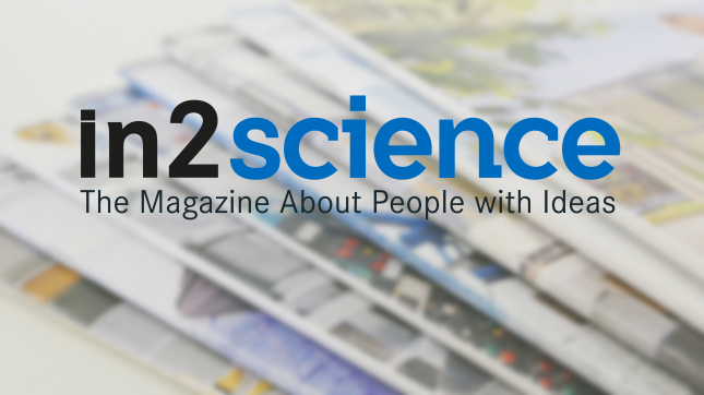 in2science- The magazine  about people with ideas