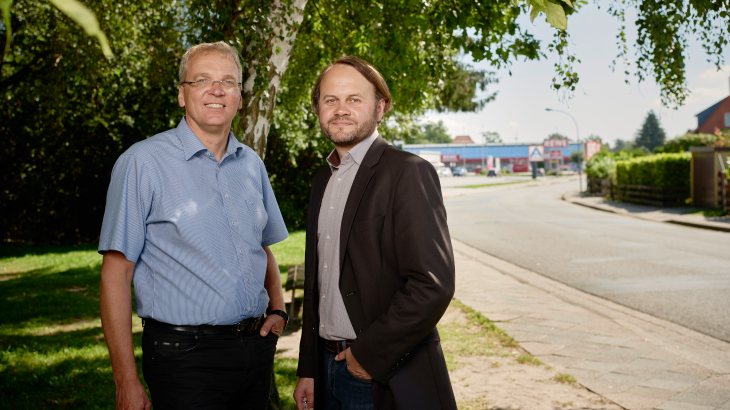 Jens Böther und Dr. Markus Groth